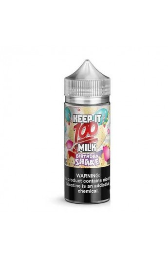 Keep It 100 - Birthday Shake 80ml (Shortfill)